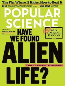 Popular Science Feb 2015 exposes alien life - Lyme disease is mentioned